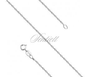 Łańcuszek srebrny loose rope pr. 925
