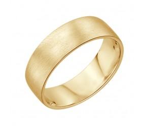 Staviori Obrączka Gładka. Żółte Złoto 0,585. Szerokość 5 mm
