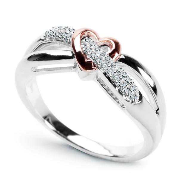 Staviori Pierścionek Zaręczynowy 29 Diamentów Szlif Brylantowy