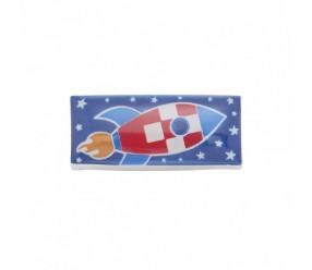 element magnetyczny na bransoletkę 2879-1 statek kosmiczny