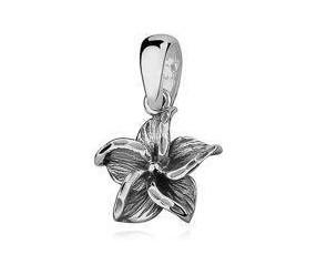 Srebrna zawieszka pr.925 elegancki kwiatek