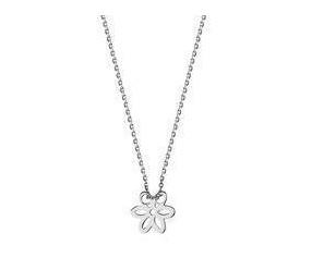 Srebrny naszyjnik pr.925 z kwiatkiem