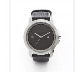ENERGETIX zegarek magnetyczny 2791-1 czarny pasek pasek ze skóry