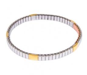 bransoletka magnetyczna 1359 z pozłacanymi ogniwami