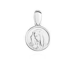 Srebrny medalik - Matka Boska Madonna