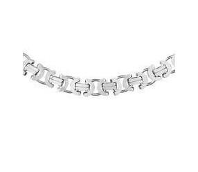 Łańcuszek Męski ozdobny srebrny pr. 925 Ø 0150