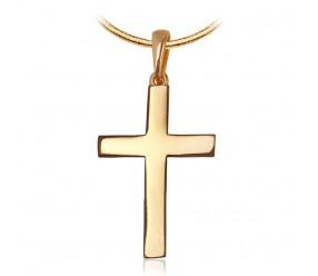 Staviori Krzyżyk. Żółte Złoto 0,585. Długość 24 mm.