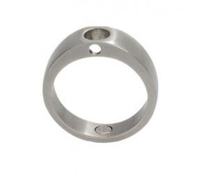 pierścionek/baza magnetyczny 470 ze stali szlachetnej matowy