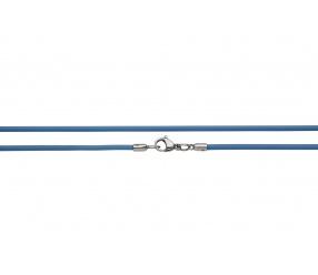 naszyjnik silikonowy 2613-7 niebieski