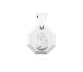 Medalik święty srebrny pr.925 Matka Boska Częstochowska