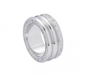 pierścionek magnetyczny 2950-1 z cyrkoniami Swarovskiego