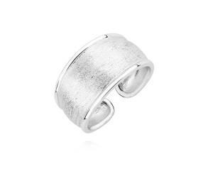 Srebrny pierścionek pr.925 diamentowany regulowany